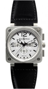Bell & Ross Instruments BR0194-WH-ST