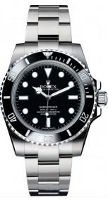 Rolex Submariner 114060 ceramic bezel 40mm Steel