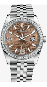 Rolex Datejust 116244 Steel and White Gold