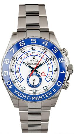 Rolex Yacht-Master II 44 mm Chronograph Steel 116680