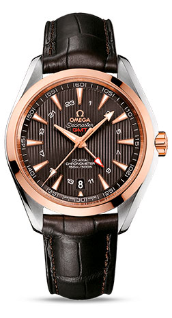 Omega Seamaster Co-Axial GMT 231.23.43.22.06.001