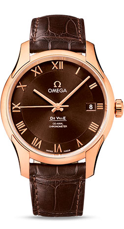 Omega De Ville Co-Axial Rose Gold Automatic 431.53.41.21.13.001