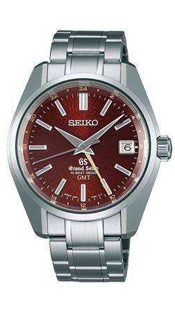 Grand Seiko Mechanical Hi Beat Stainless Steel Automatic GMT SBGJ021