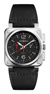Bell & Ross Instruments BR0394-BLC-ST/SCA