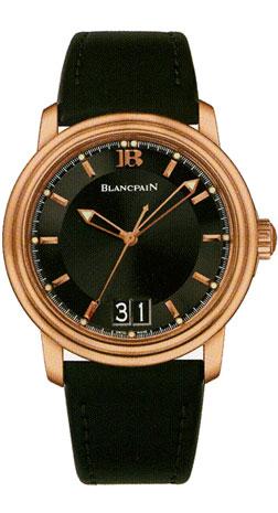 Blancpain Leman Ultra-Slim Grande Date Aqua Lung 2850A-3630-64B
